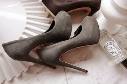 .: Fashion, Style, Color, Pump, Grey, Closet, High Heels, Gray, Shoes Shoes