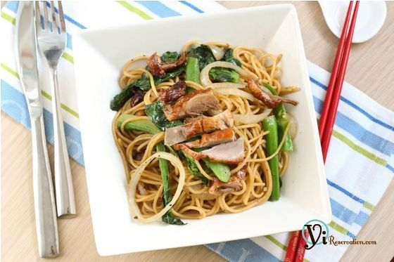 Classic Hong Kong Style fusion dish! It's delicious and easy to make.