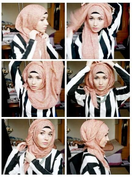 | Would prefer more coverage on the chest, though. Maybe keep the other end a little longer or use a maxi scarf. - Hijab Tutorials