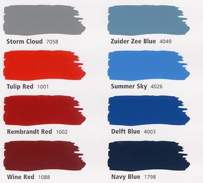 Cambridge Red Paint