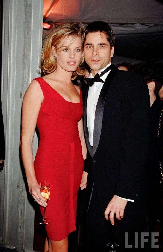 Rebecca Romijn & John Stamos