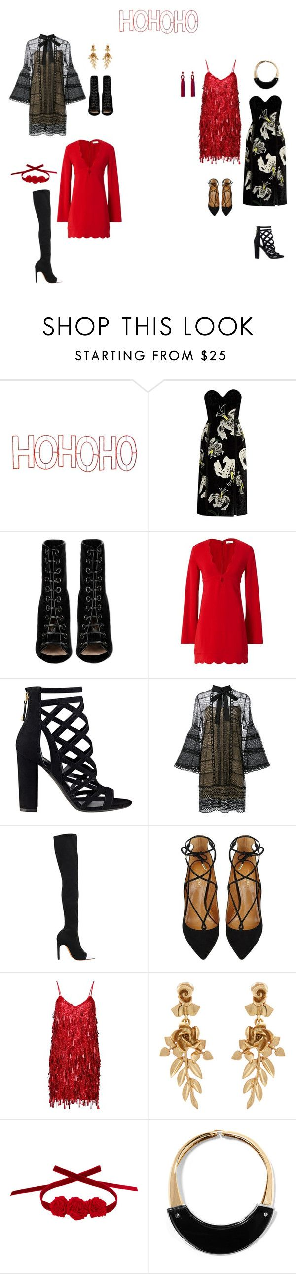 """korporative"" by neiman-bags on Polyvore featuring мода, Mr. Christmas, Erdem, Barbara Bui, A.L.C., GUESS, Carolina Herrera, Givenchy, Aquazzura и Ashish"
