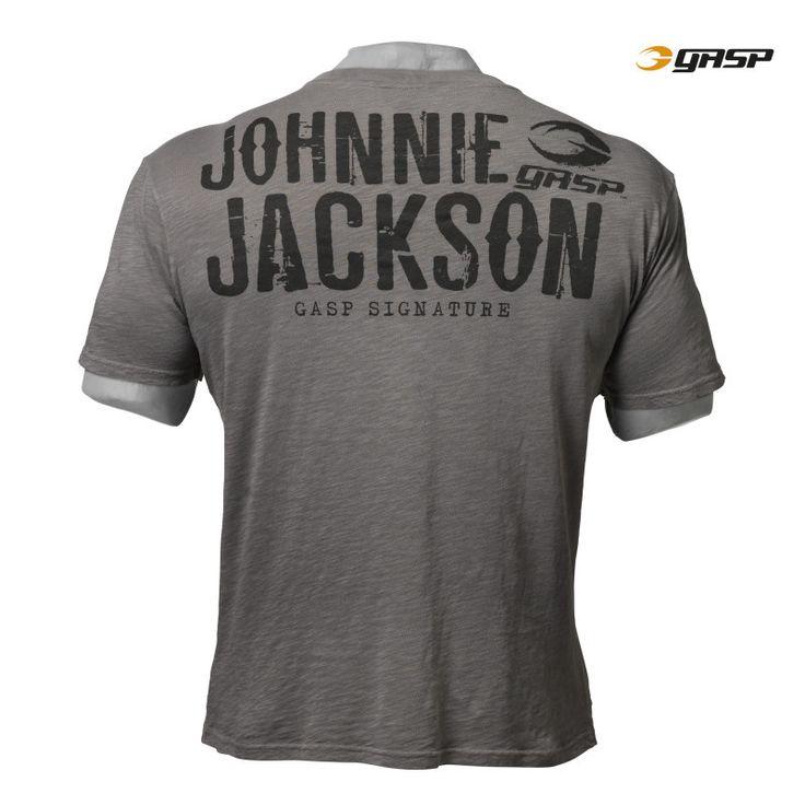 GASP Raw Tee - Johnnie O. Jackson Series