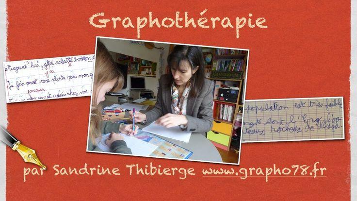 www.grapho78.fr Sandrine Thibierge, graphothérapeute, explique la graphothérapie dans une interview de 2 minutes. Qu'est-ce que la graphothérapie ? À qui s'a...