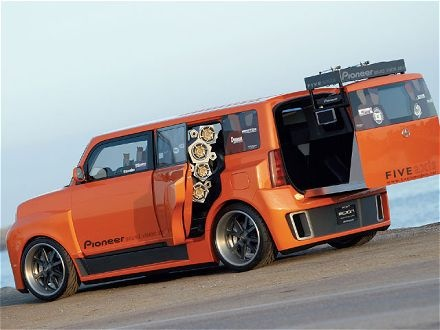 The first scion I ever saw....