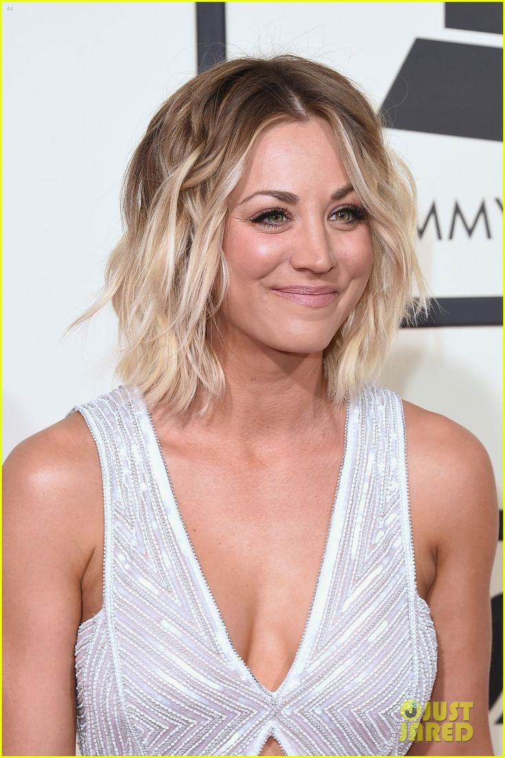 Kaley Cuoco Rocks a Silver Sparkle Jumpsuit for Grammys 2016: Photo #3579391. Kaley Cuoco shows some skin in a cutout jumpsuit while attending the 2016 Grammy Awards held at the Staples Center on Monday (February 15) in Los Angeles.     The…