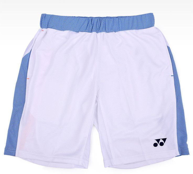 Yonex Men's Badminton Short Pants Lee Chong Wei Sports Clothes White 15002LCWEX #Yonex