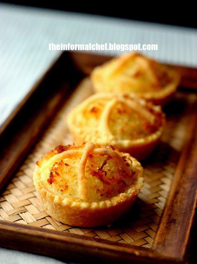The Informal Chef: Coconut Tartlets 椰挞