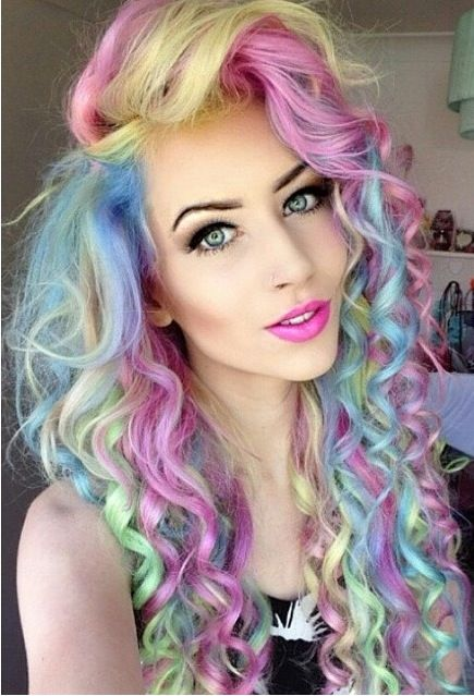 blonde and lilac hair - Google Search