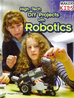 Learning the ins and outs of robotics can take a lifetime, but learning the basics just takes reading one book! Different types of robots and their components, functions, and purposes are explored in a way that students will find helpful and encouraging when they begin working on their own projects. More than just a beginners guide, this may be the spark to ignite limitless possibility for kids who love to use their minds and hands.