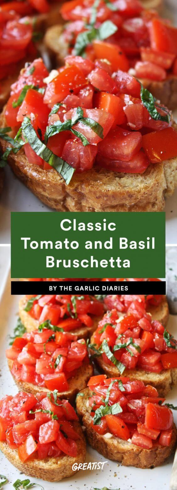 Just submit to the bread. #greatist https://greatist.com/eat/easy-bruschetta-recipes