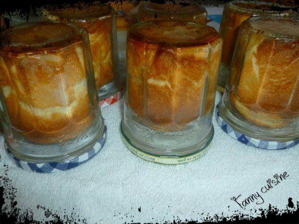 Briochettes à la confiture en bocaux au thermomix