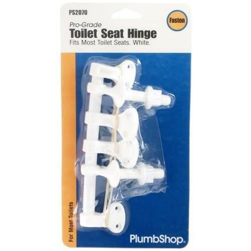 PlumbShop Toilet Seat Hinge with Screws, PS2070