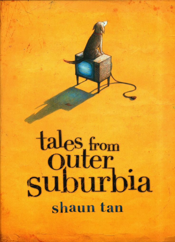 Picture book: Tales From Outer Suburbia by Shaun Tan. A collection of 15 stories, some only a few paragraphs long, but all illustrated in Tan's trademark style