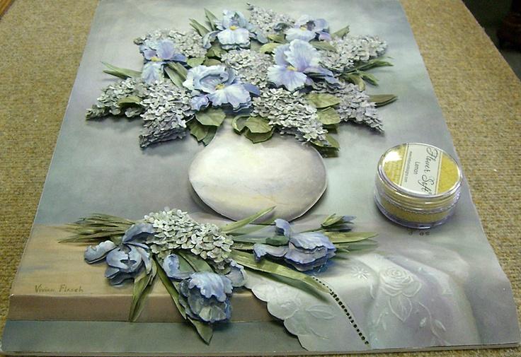 Paper tole flowers