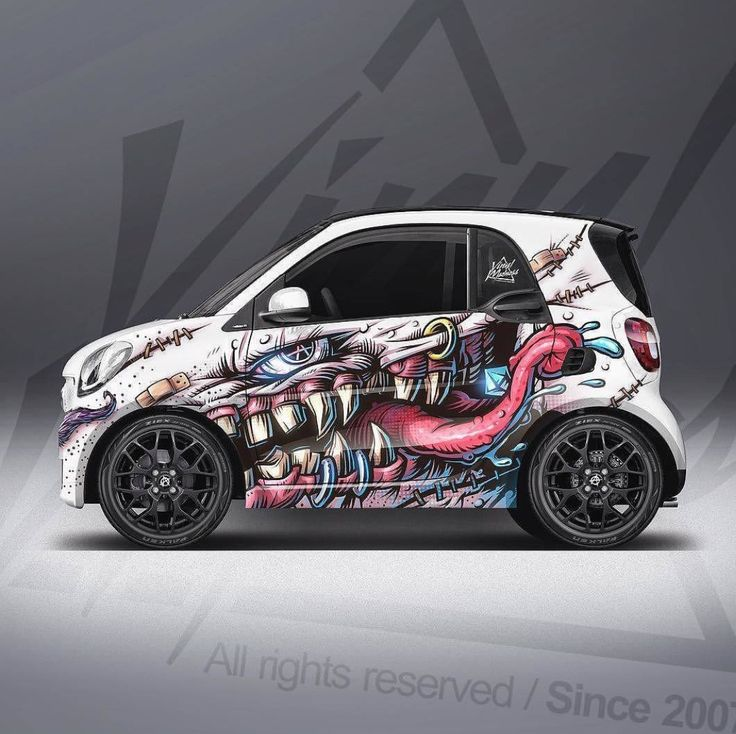 Pin by Gregorio Lugo on Smart Cars Custom car decals