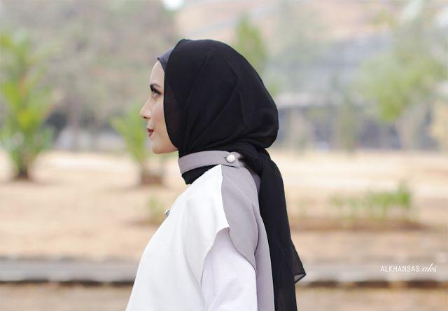 Simple and Casual Hijab Style.  #HijabInspiration #Hijab #Hijabi #HijabFashion #HijabOutfit