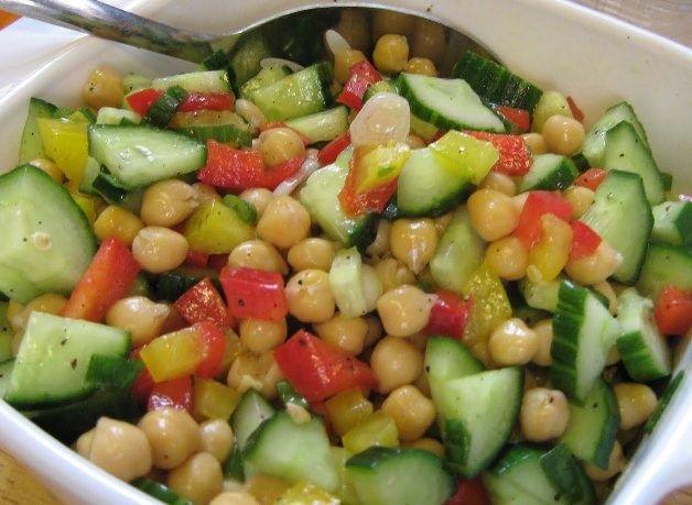 210 best images about comida sana y f cil de preparar on - Ensalada de garbanzos light ...