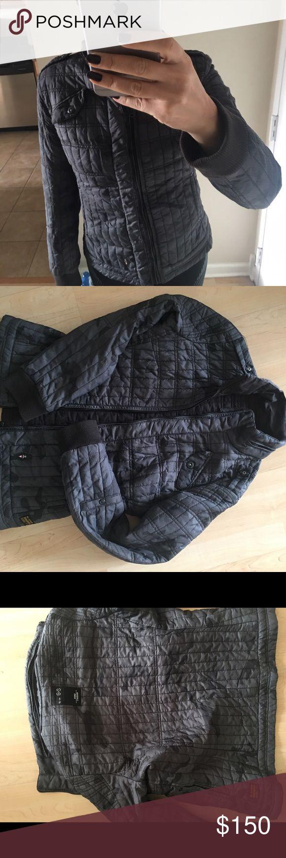 G star raw camo jacket medium Super cool G Star Raw camo jacket in grey tones. Size medium. G Star Raw  Jackets & Coats