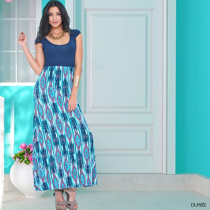 Vestidos largos: Para un día fresco. Moda femenina DUPREE