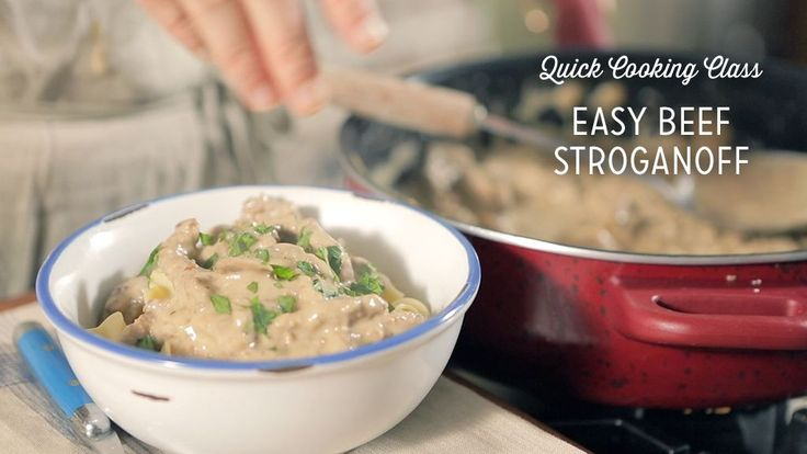 Check out what I found on the Paula Deen Network! Beef Stroganoff http://www.pauladeen.com/beef-stroganoff