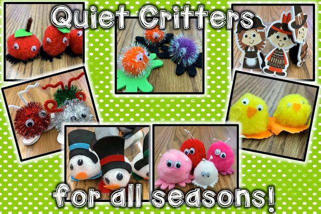 Quiet Classroom Ideas ~ Best ideas about quiet critters on pinterest warm