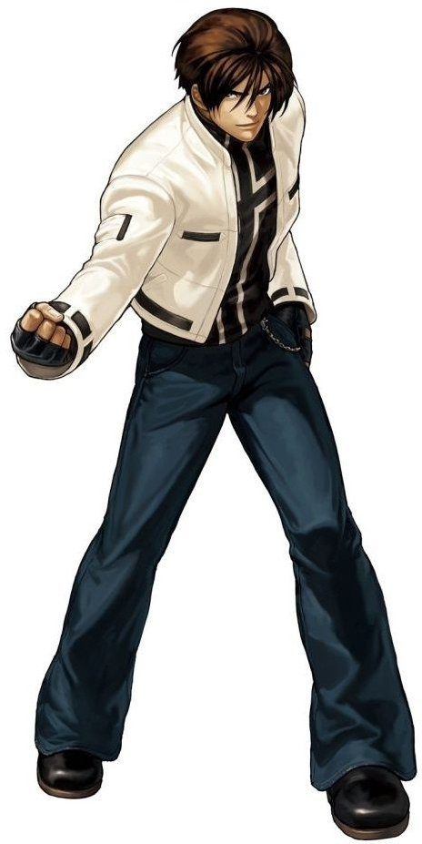 Outfit de Kyo en The King Of Fighters 99, actualmente usado en The King Of Fighters XIII CLIMAX bajo el nombre de Nests Style Kyo.  Outfit más usado aparte del primero.  Aparece este otufit también en:  KOF 2000  KOF 2001  KOF 2002  KOF NEOWAVE  KOF XI  KOF SKY STAGE  KOF Maximum Impact como Kyo Kusanagi Classic  KOF 2002 Unlimited Match.  ©2012 SNK PLAYMORE CORPORATION. All Rights Reserved.