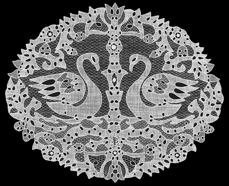 The Halas Lace is purely hand made and one of the most exclusive delicate sewn products all over the world.