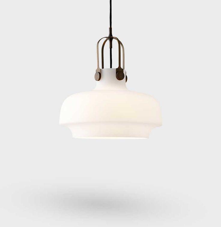 COPENHAGEN SC7 PENDEL LAMPE Ø35 CM - OPAL GLASS - &TRADITION | Nova Møbler