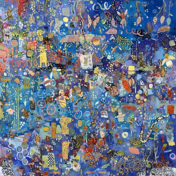 night | oil on canvas | Kathy Beynette