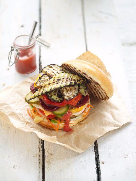 Grill veggieburger - Recept Bonduelle