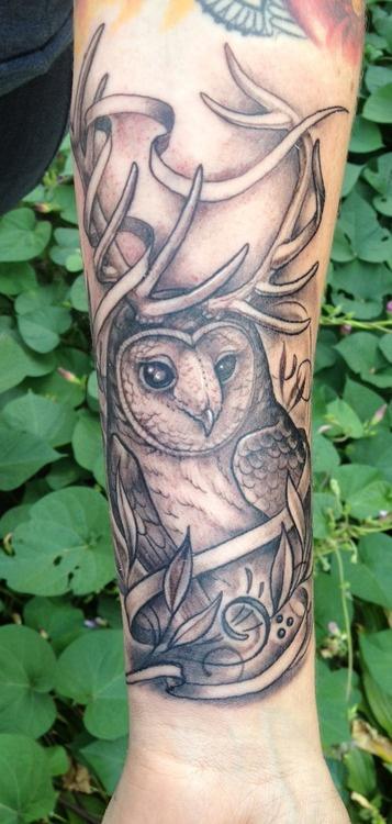 17 best images about owls tattoos on pinterest owl tat for Tattoo artists kalamazoo mi