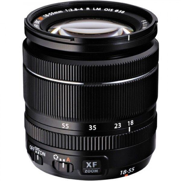 Fuji Film Fujinon XF 18-55mm F2.8-4 R LM OIS Black Lens