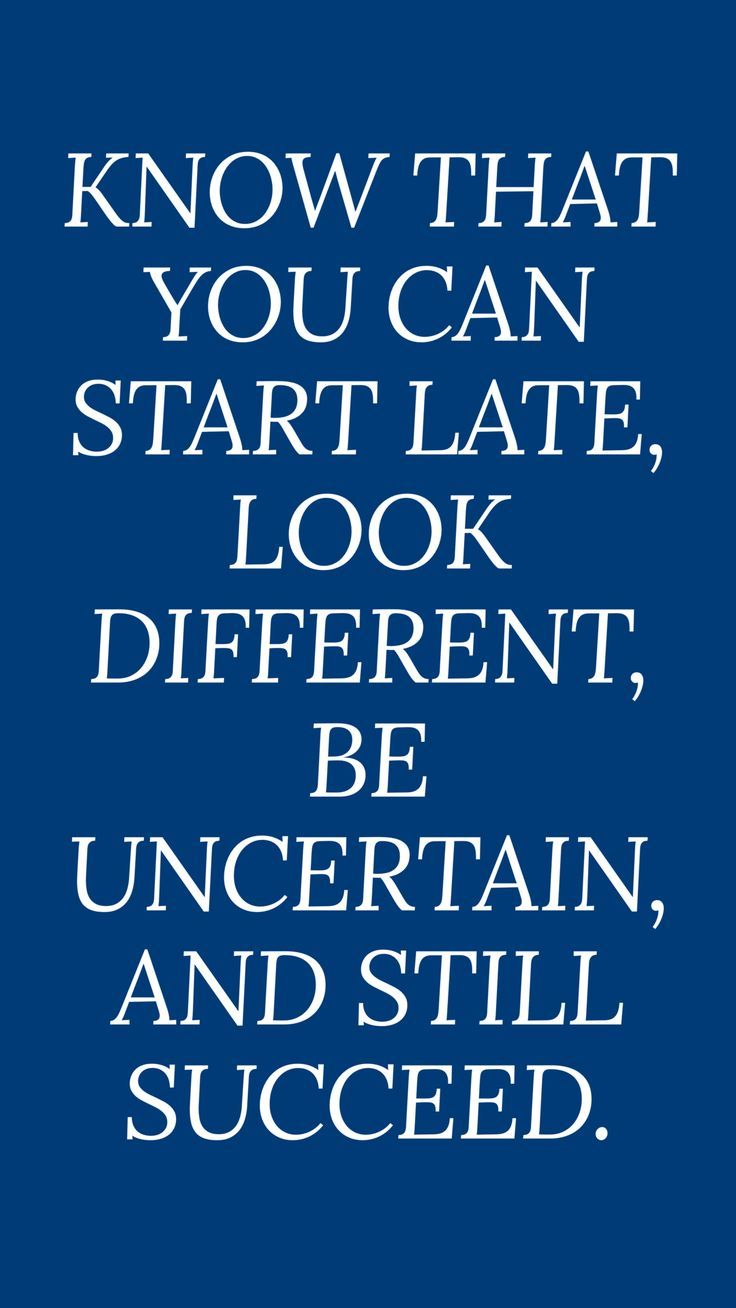 Motivational Quotes Its Ok To Be Different IPhone Wallpaper Blue