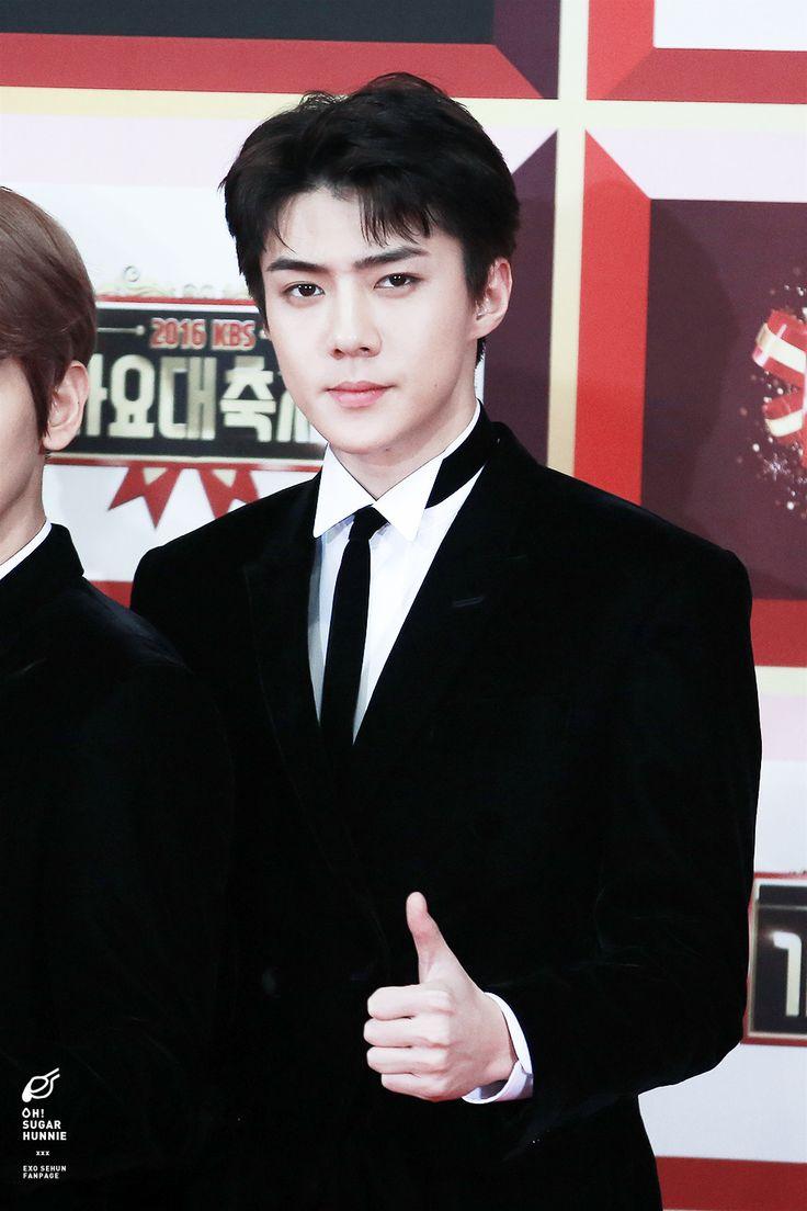 Sehun_EXO_KBS GAYO DAECHUKJE 2016