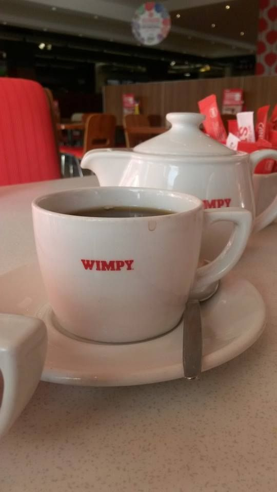 Wimpy coffee - my favourite. Picture by Ian Cumming.