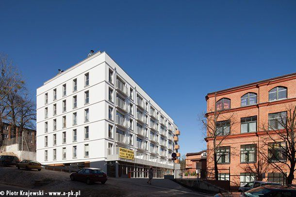 budynek wielorodzinny Śródmiejskie Tarasy (Krzysztof Podbielski - członek zespołu projektowego W+architekci)