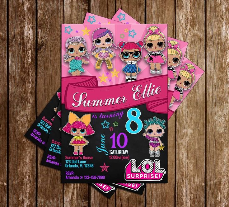 39 Best Lol Surprise Dolls Birthday Images On Pinterest