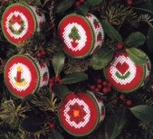 Potpourri Scented Ornament Patterns for Plastic Canvas ePattern