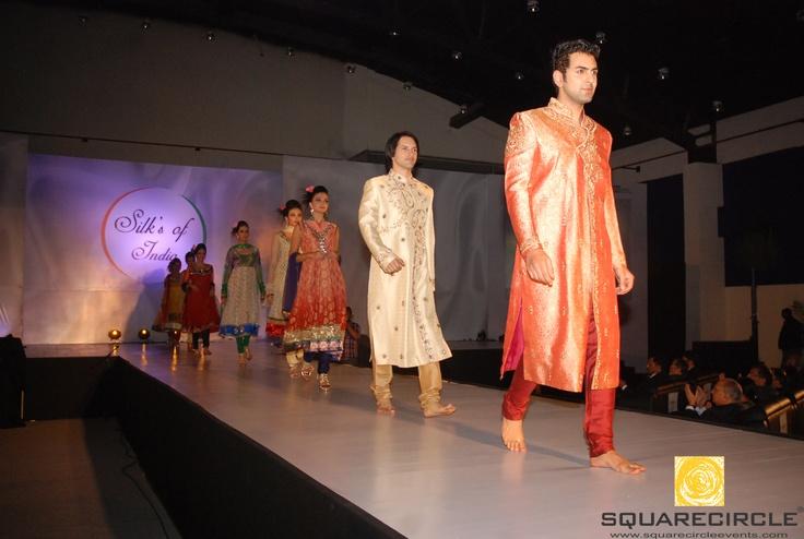 Fashion Show on theme Silks of India