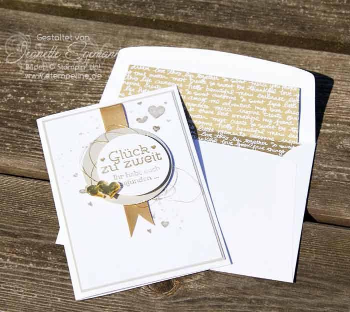 Glückwunschkarte Zur Goldenen Hochzeit Stampin´ Up! Mit Den Stempelsets  Geschenk Deiner Wahl, Gorgeous