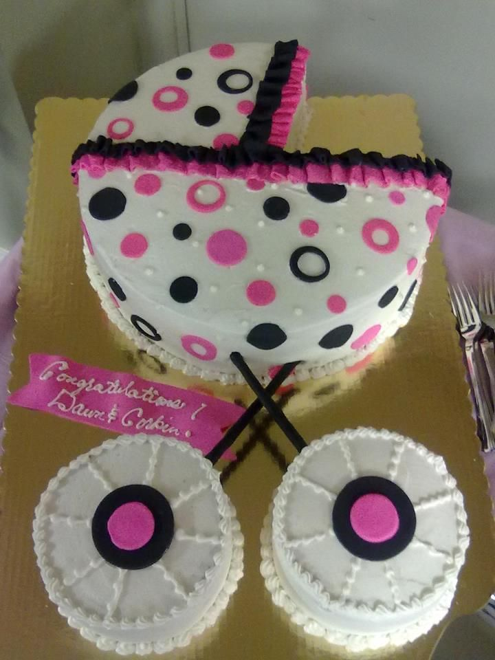 Google Image Result for http://www.4everyoccasioncakes.com/wordpress/wp-content/gallery/babyshower/baby-stroller-cake.jpg