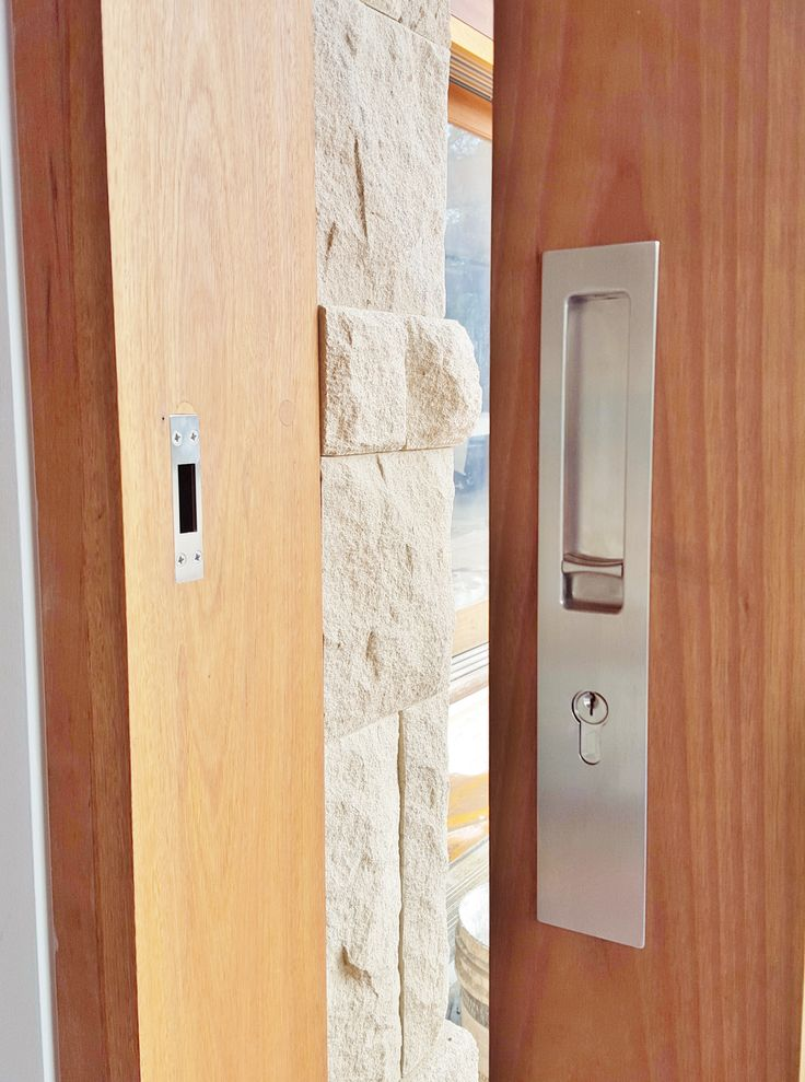 Chant Productions - VS Euro Locking Flush Pull, installed by The Tidy Tradie - Lock Carpenter. Supplied by Style Finish. #Chant #ChantProductions #StyleFinish
