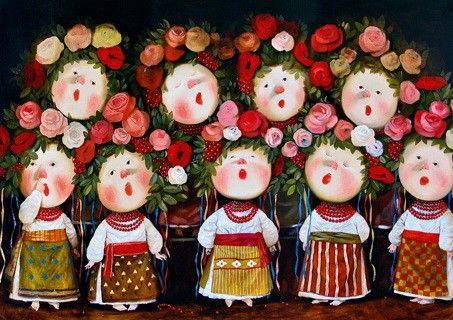 Choir by Veriovka