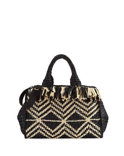 1c2d6b494062 PRADA GRECHE LARGE RAFFIA TOTE BAG. #prada #bags #shoulder bags #hand bags # leather #tote #lining #