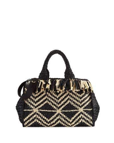 25837aa8423f PRADA GRECHE LARGE RAFFIA TOTE BAG. #prada #bags #shoulder bags ...