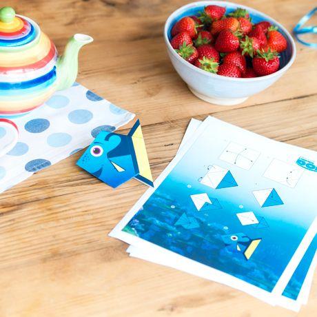 Findet Dorie Origami für Anfänger