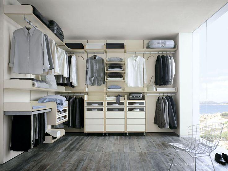 Walk in Wardrobe Designs and Modular Walk in Wardrobe Furniture