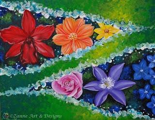 Zanne Art & Designs: Rainbow Series