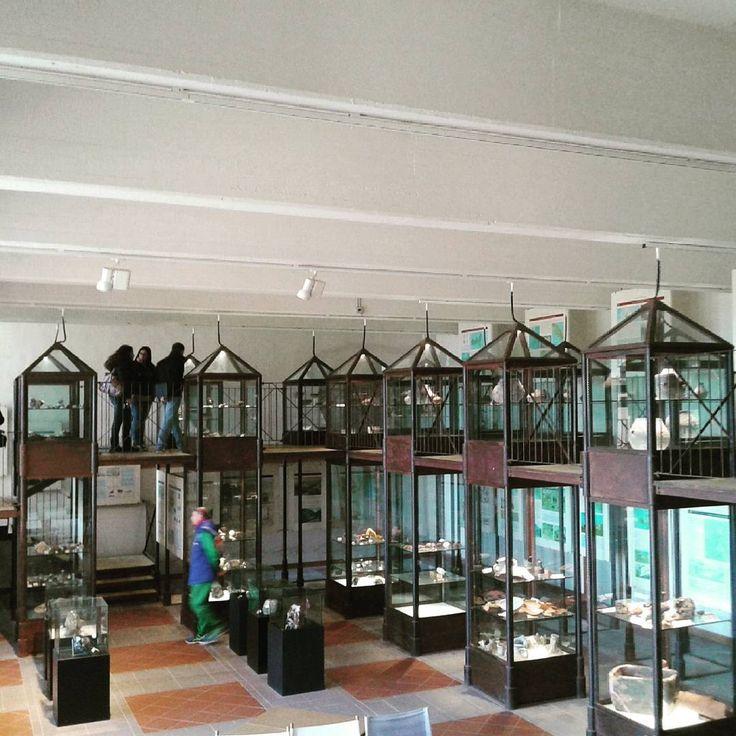 Interno del Museo civico archeologico del Distretto minerario di Rio nell'Elba